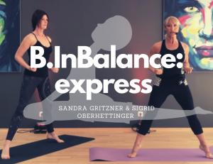 #B.InBalance: express – mit Sandra Gritzner &