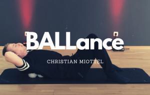 #BALLance Training – mit Christian Miottel